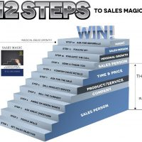 12 steps to Sales Magic Book